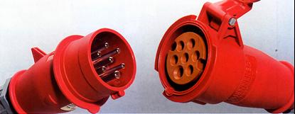 Hình ảnh của MENNEKES Phích cắm / ổ cắm dạng phích chuyển đổi pha 16A và 32A
