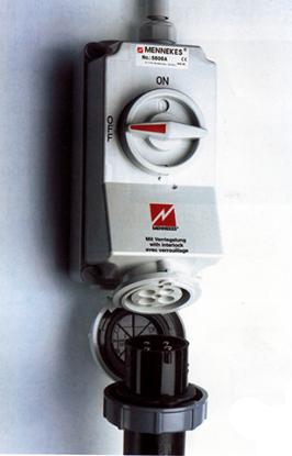 Hình ảnh của MENNEKES CEE Ổ cắm có khóa liên động 16A -125A